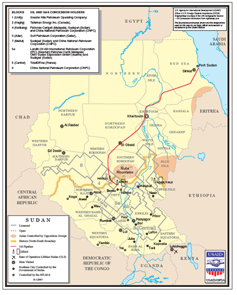 What The Division Of North And South Sudan Means For Oil