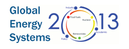 Global Energy Systems – June 26-28 2013