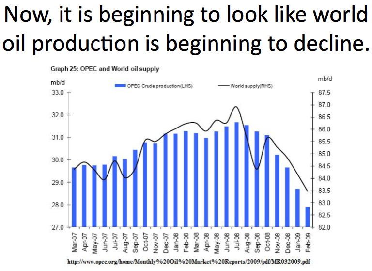 The Oil Drum Where We Are Headed Peak Oil And The