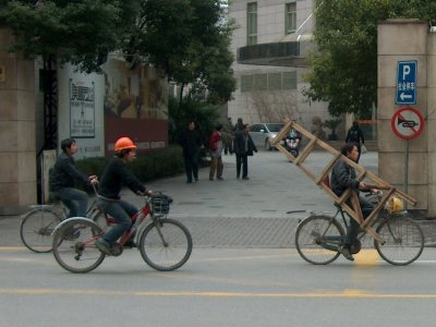 Extreme human-powered delivery