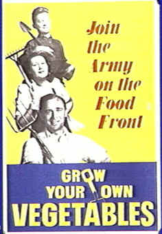 WWII - Grow Your Own Vegetables